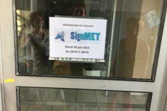 SignMet : compte rendu des évaluations aux parents des enfants de l'école de Ramonville